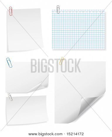 note paper set