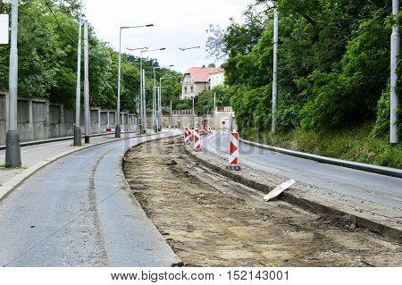 Repair And Reconstruction Of Asphalt Road