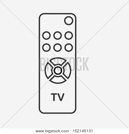 Remote Control - Vector Icon Isolated