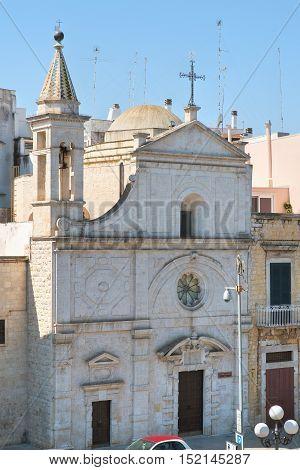 Church of St. Stefano. Molfetta. Puglia. Italy.