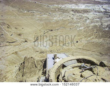 Negev Desert - View From Masada