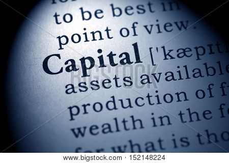 Fake Dictionary Dictionary definition of the word capital.