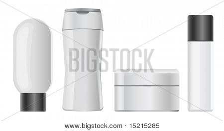 cosmetic plastic containers