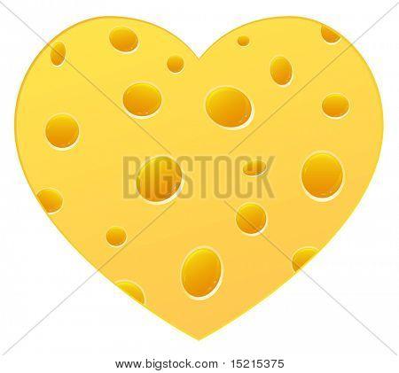 Corazón de queso
