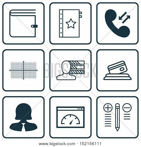 Set Of 9 Universal Editable Icons For Airport, Project Management And Marketing Topics. Includes Ico