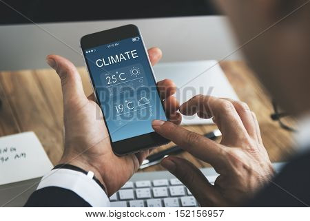 Climate Weather Forecast Temperature Concept