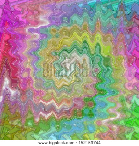 Abstract coloring background of the pastels gradient with visual mosaic,twirl,wave and plastic wrap effects