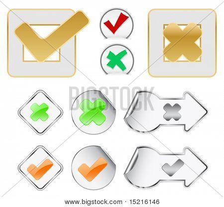 checkbox design elements