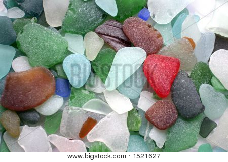 Glass Stones Background