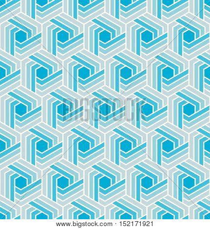 Vector seamless pattern. Modern geometric texture. Repeating abstract background.