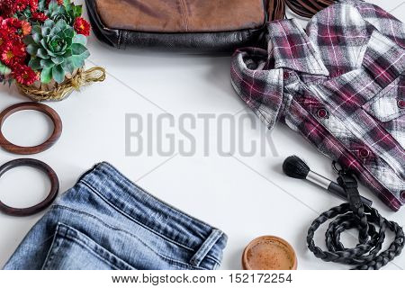 Set Of Women's Clothes,accessories