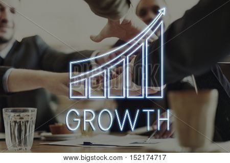 Strategy Progress Economy Growth Concept