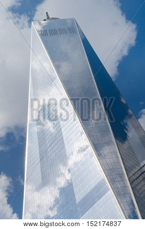 Freedom Tower (1 Wtc) In Manhattan, A Symbol Of New York City And The United States.