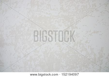 Bright fresh plastered wall background or texture