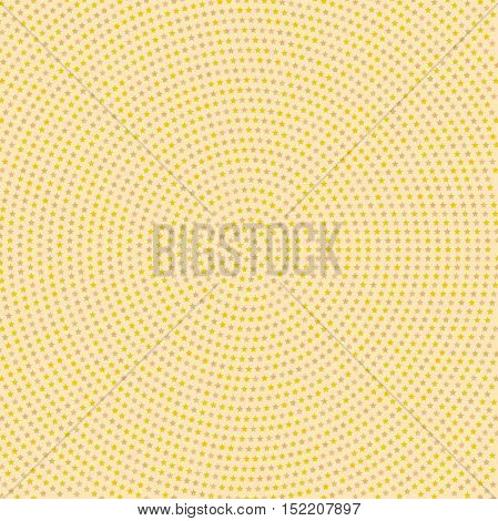 Geometric modern vector pattern. Fine ornament with colored stars