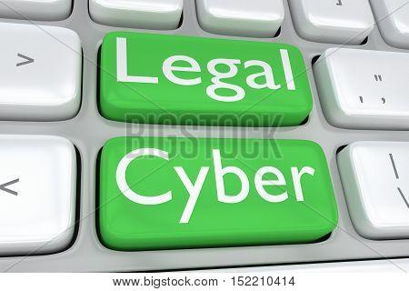 Legal Cyber Concept