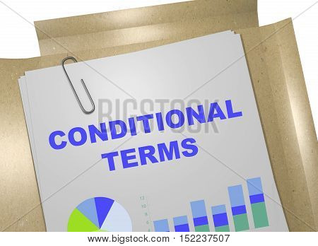 Conditional Terms Concept