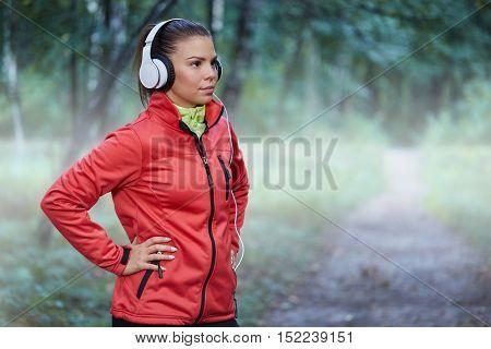 Young Determinate Sportswoman
