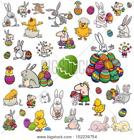 Big Easter Cartoon Collection
