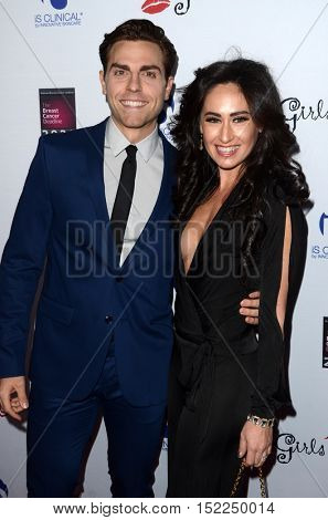 LOS ANGELES - OCT 16:  Colt Prattes, Angelina Prattes at the 16th Annual Les Girls Cabaret at the Avalon Hollywood on October 16, 2016 in Los Angeles, CA