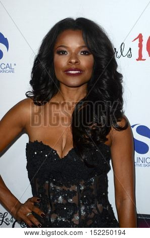 LOS ANGELES - OCT 16:  Keesha Sharp at the 16th Annual Les Girls Cabaret at the Avalon Hollywood on October 16, 2016 in Los Angeles, CA