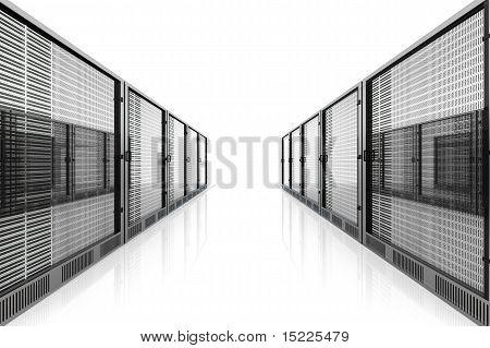 Server Room.