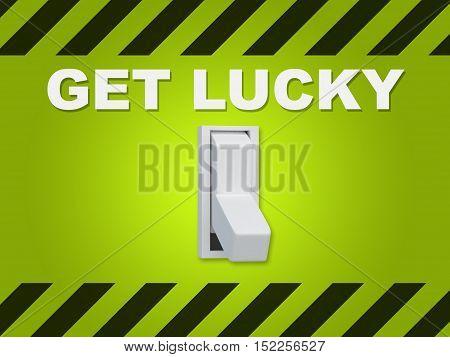 Get Lucky Concept