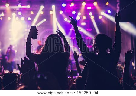 Enjoying Concert Together