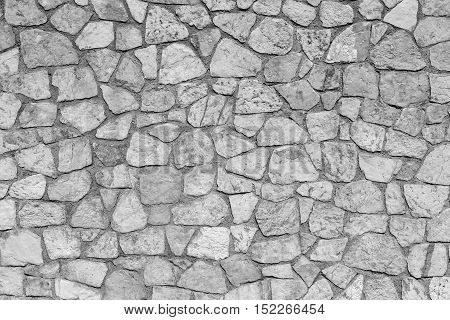 gray stone texture mosaic and abstract background or wallpaper