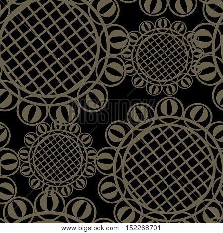 Vector seamless ornament texture - abstract background