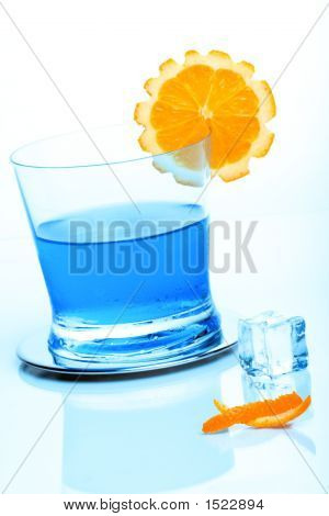 Cocktail And Icecube