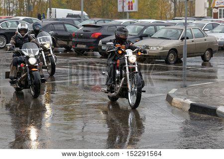 Motorcyclists Closing Of Biker Season