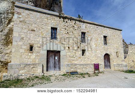 Governor palace in Morella province Castellon Spain