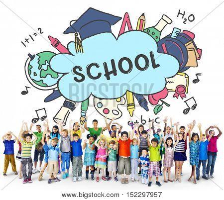 School Education Academic Study Concept
