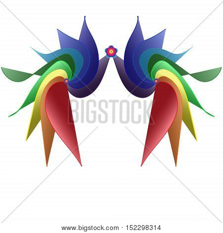 Chinese festival celebration mask marquise colorful stage curtain