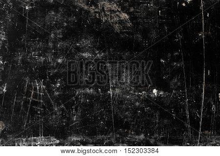 Black grange texture of concrete wall. Vintage background
