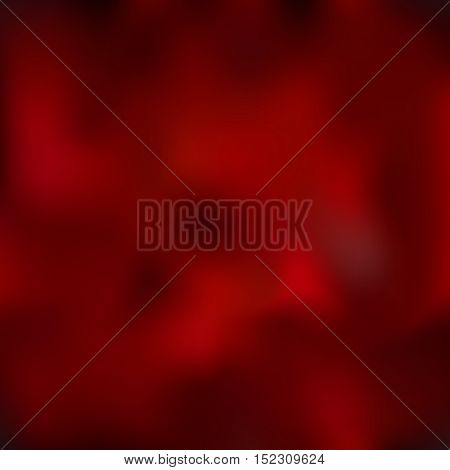 Awesome abstract blur illustration in vector graphics. Maroon and dark red blurred background.