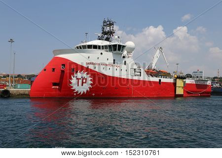 Seismographic Research And Survey Vessel