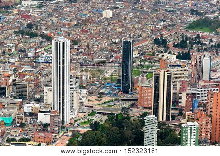 Downtown Bogota, Colombia
