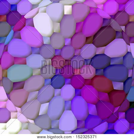 Abstract coloring background of the horizon gradient with visual mosaic,spherize and pinch effects