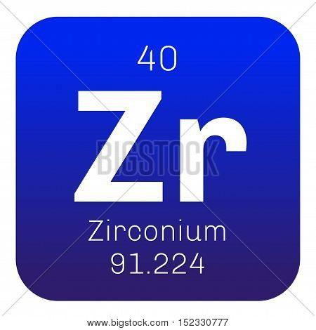 Zirconium Chemical Element