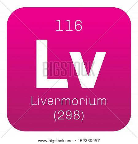 Livermorium Chemical Element