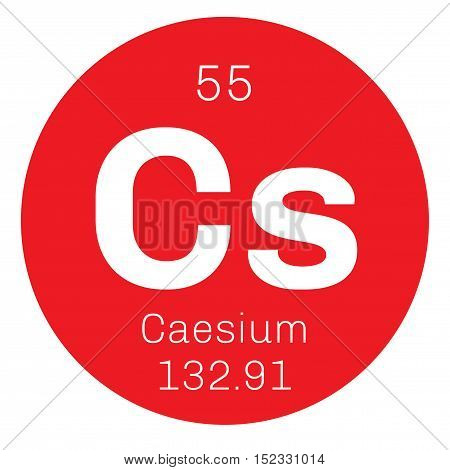 Caesium Chemical Element