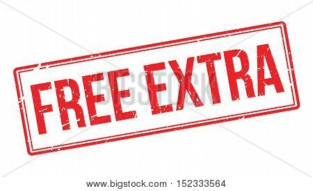 Free Extra Rubber Stamp