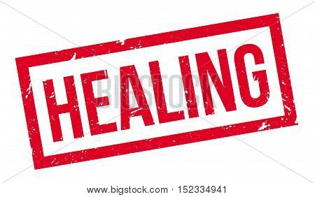 Healing Rubber Stamp