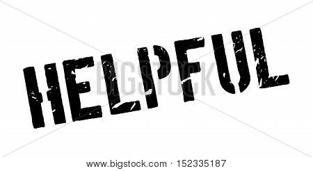 Helpful Rubber Stamp