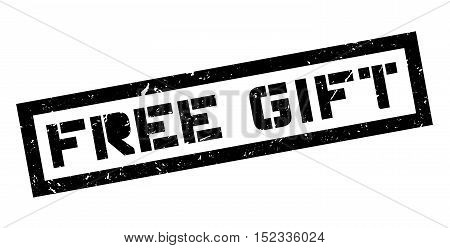 Free Gift Rubber Stamp