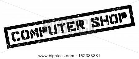 Computer Shop Rubber Stamp