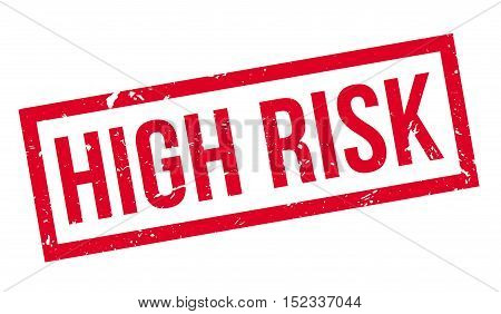 High Risk Rubber Stamp