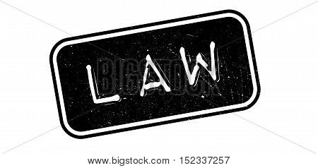 Law Rubber Stamp